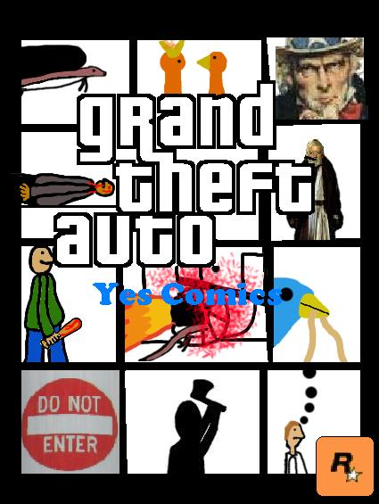 GTA Yes Comics